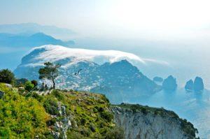 097. Monte Solaro - Anacapri, Caprile, Belvedere di Migliera, Monte Solaro, Osservatorio solare, Santa Maria a Cetrella,