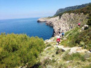 098. Sentiero dei Fortini - Faro di Punta Carena, Fortino di Pino, Fortino di Mesola, Fortino di Orrico, Grotta Azzurra