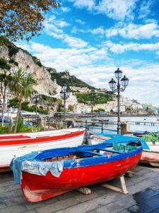 049. Spiaggia del porto - Amalfi