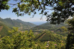 Panorama dal Valico