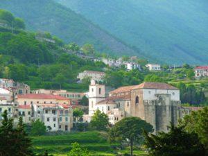 Duomo di Scala visto da Ravello