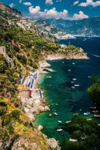 Amalfi Vista da Conca