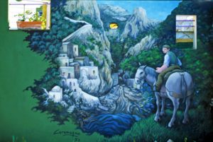 Murales Il Geranio